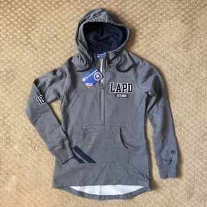 Champion Heritage LAPD Hoodie - size M NWT